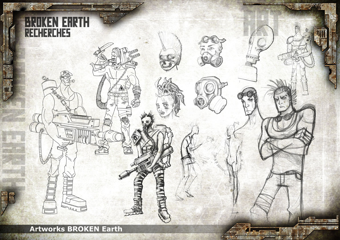 Broken Earth - Concept Art 2
