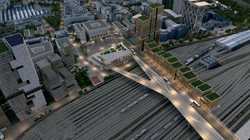 Gare Saint-Denis Pleyel vue 10