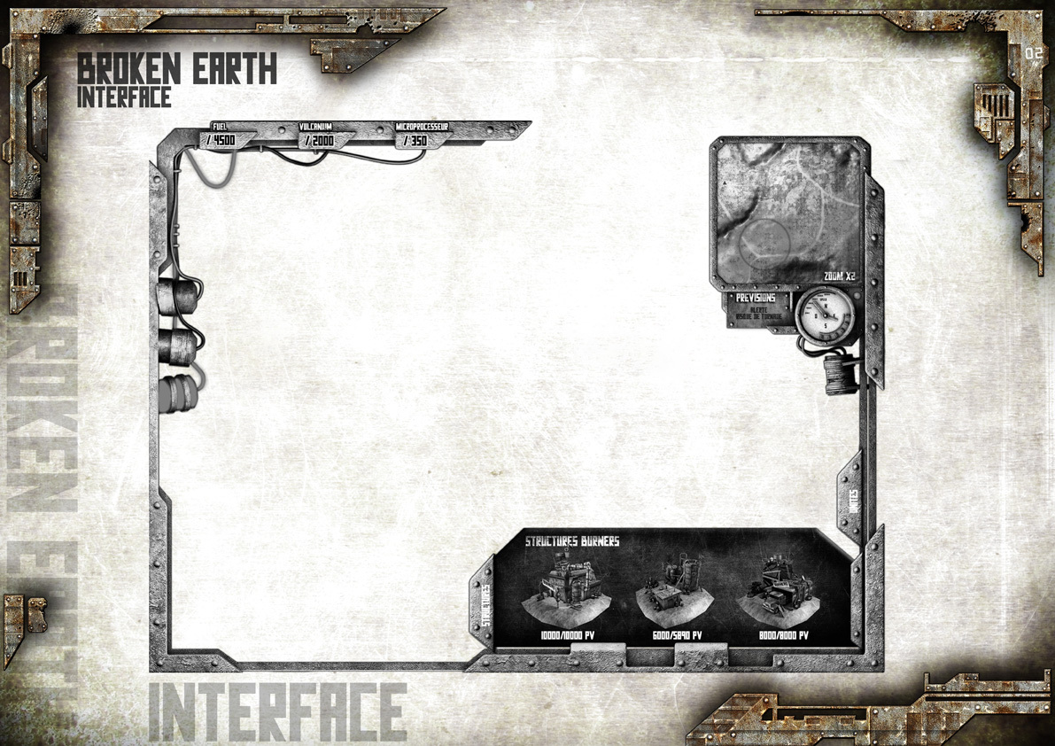 Broken Earth - Interface 2