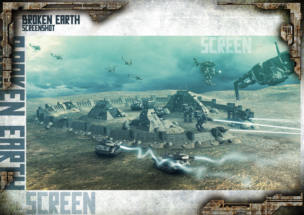Broken Earth - Scène de jeu United Forces 2