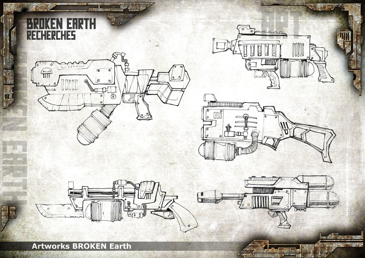 Broken Earth - Concept Art 3