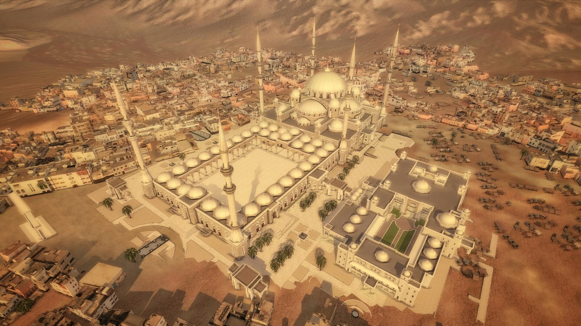 Grande mosquée Fujairah vue 2