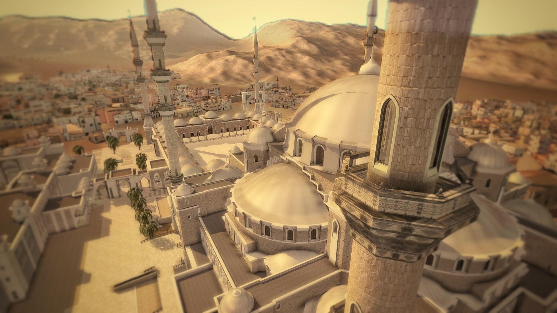 Grande mosquée Fujairah vue 4