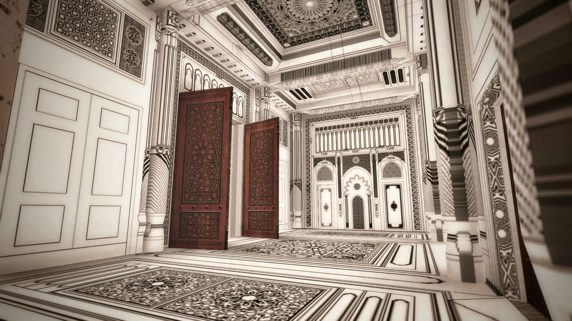 Grande mosquée Fujairah vue 6