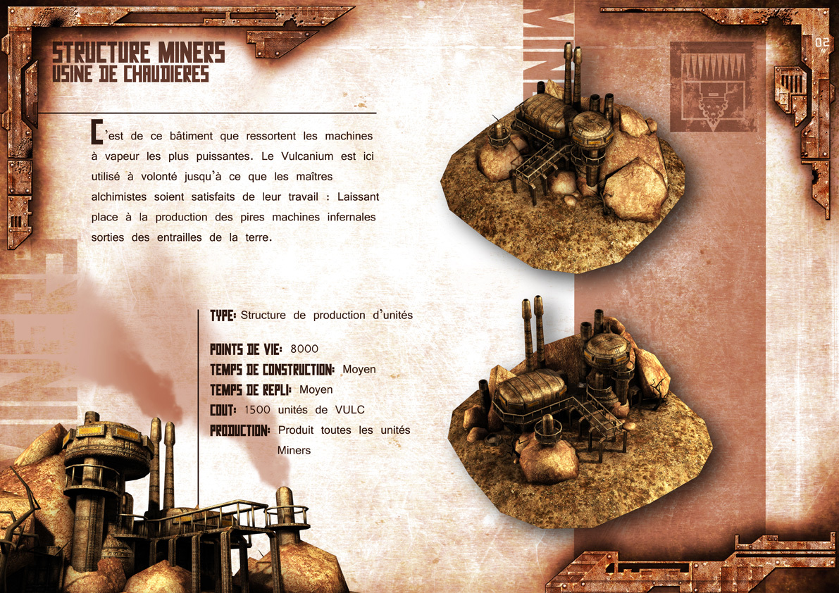 Broken Earth - Batiments Miners 4