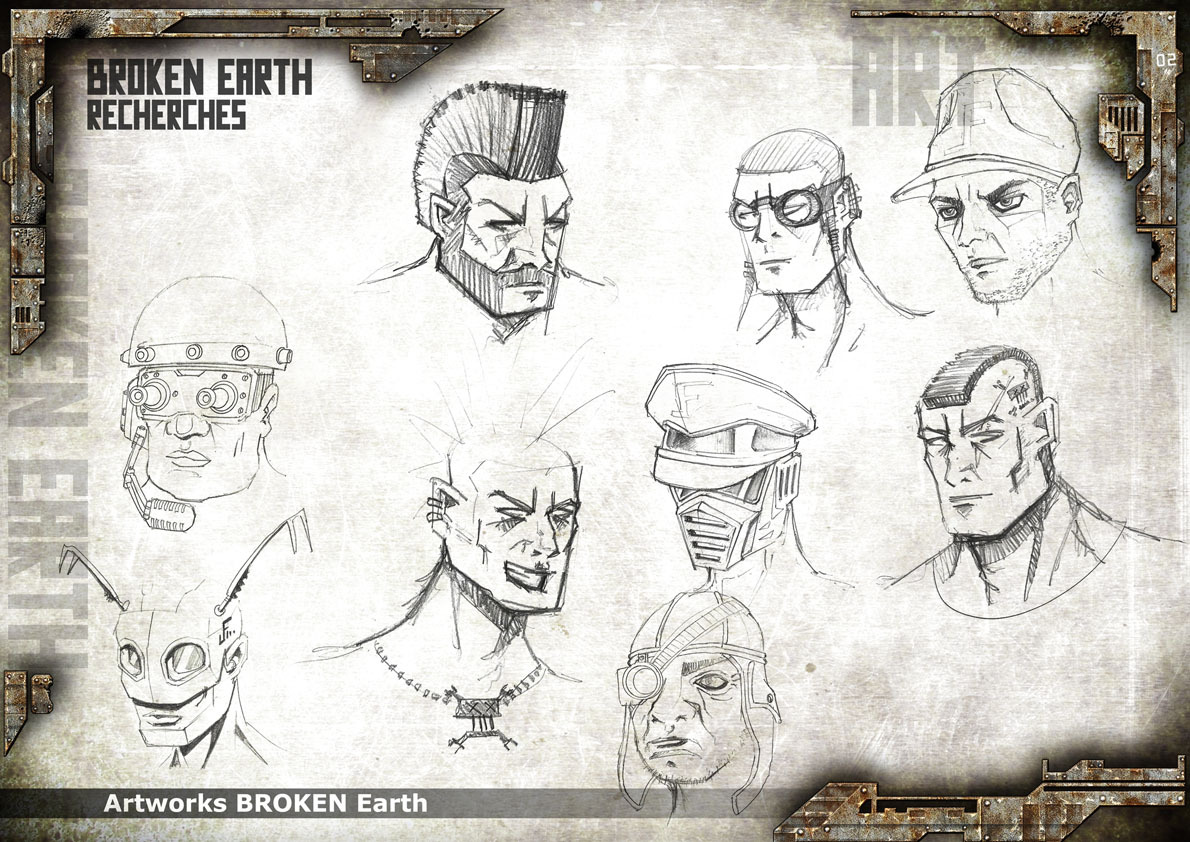 Broken Earth - Concept Art 1