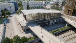 Gare Saint-Denis Pleyel vue 4