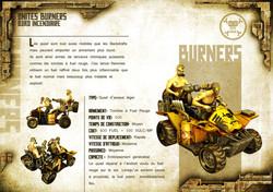 Broken Earth - Unités Burners 2