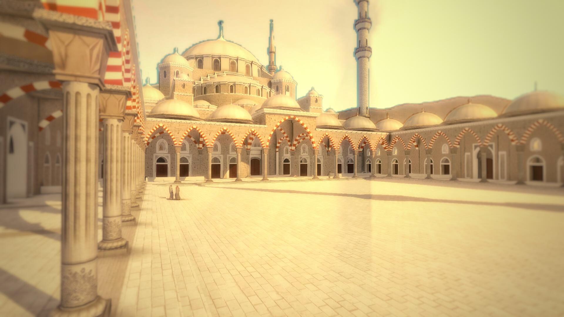 Grande mosquée Fujairah vue 5
