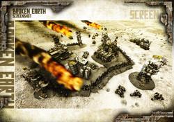 Broken Earth - Scène de jeu Burners 3