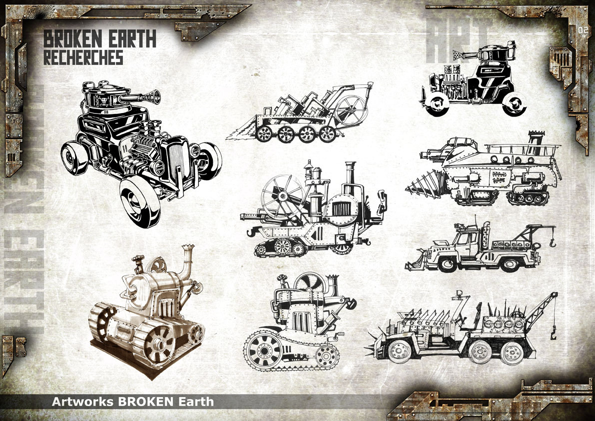 Broken Earth - Concept Art 9