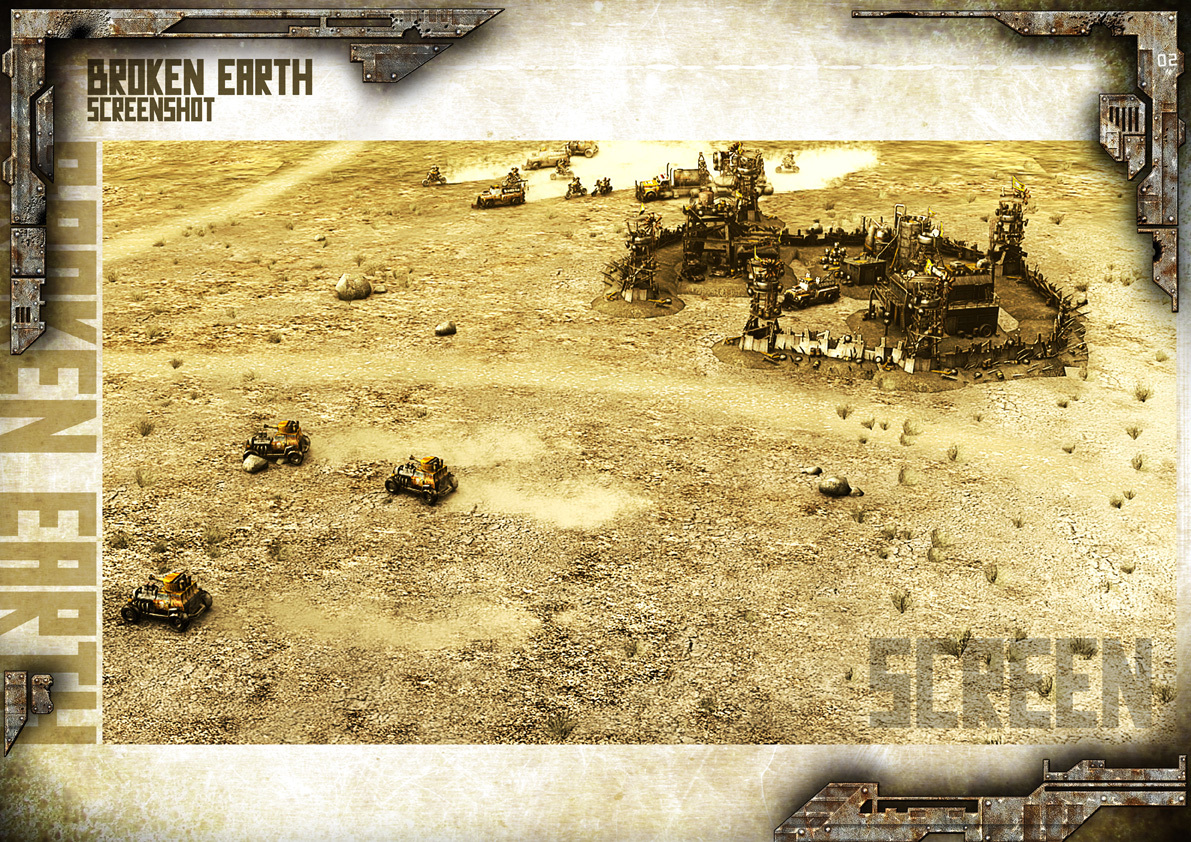 Broken Earth - Scène de jeu Burners 2