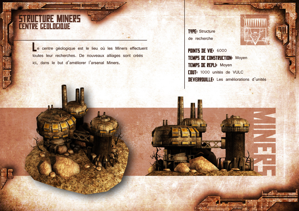 Broken Earth - Batiments Miners 2