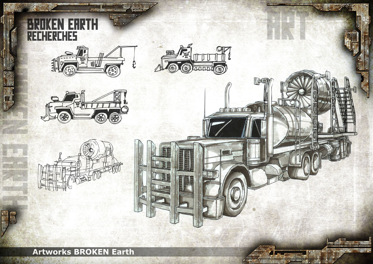 Broken Earth - Concept Art 5