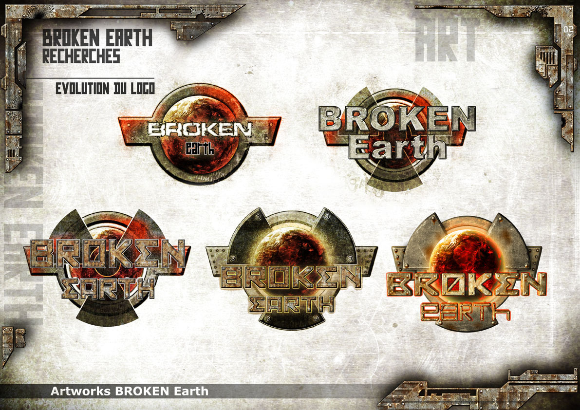 Broken Earth - Logo