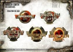 Broken Earth - Logo