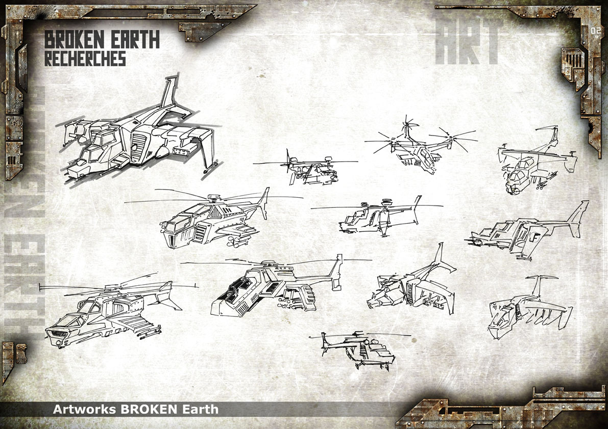Broken Earth - Concept Art 6