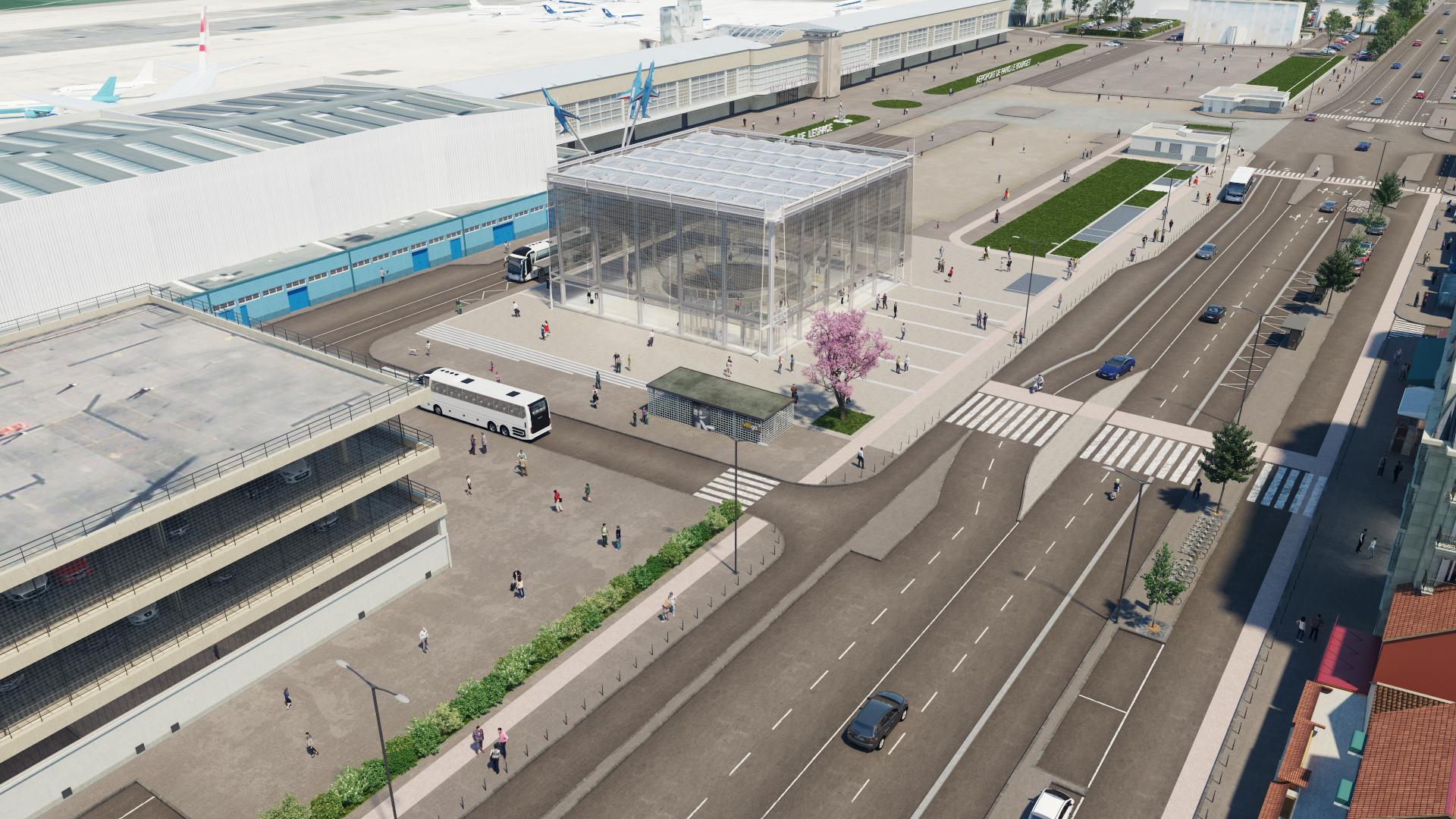 Le Bourget aéroport vue 3