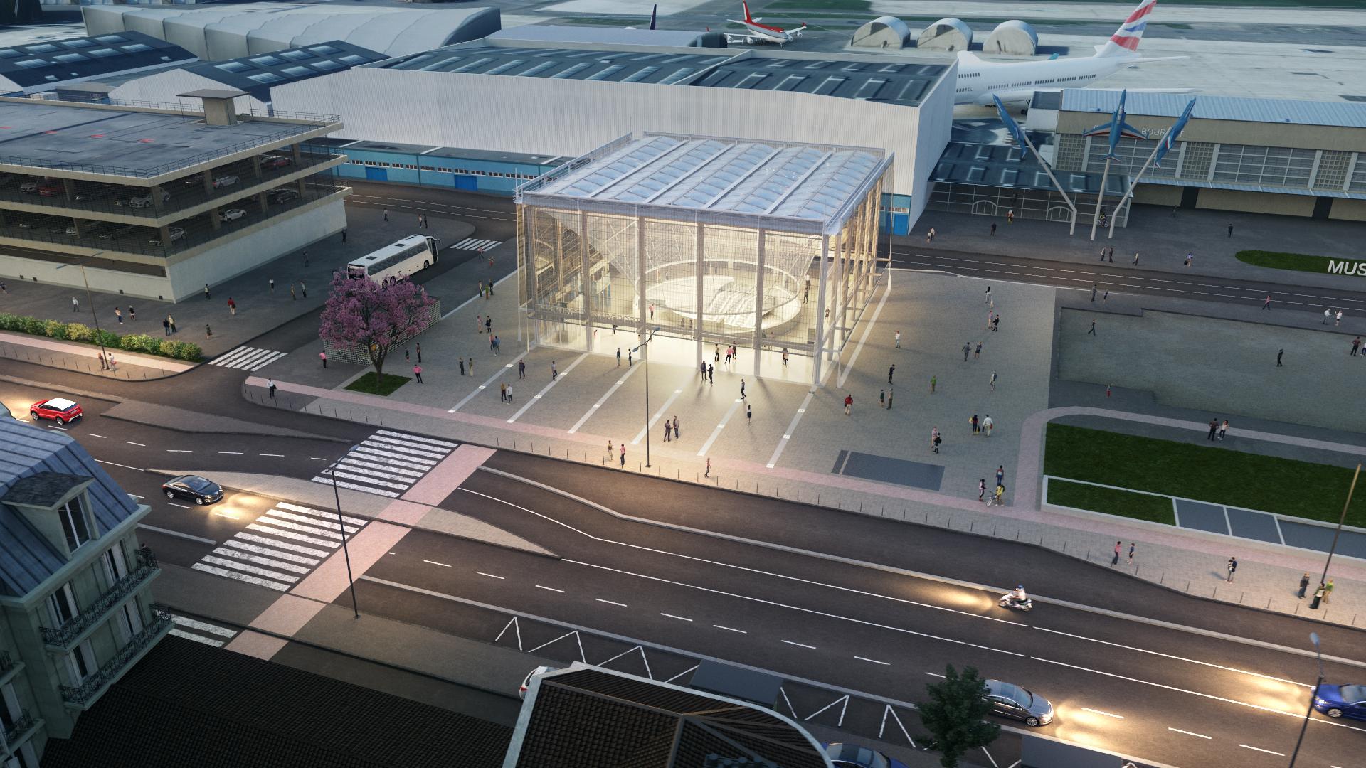 Le Bourget aéroport vue 8