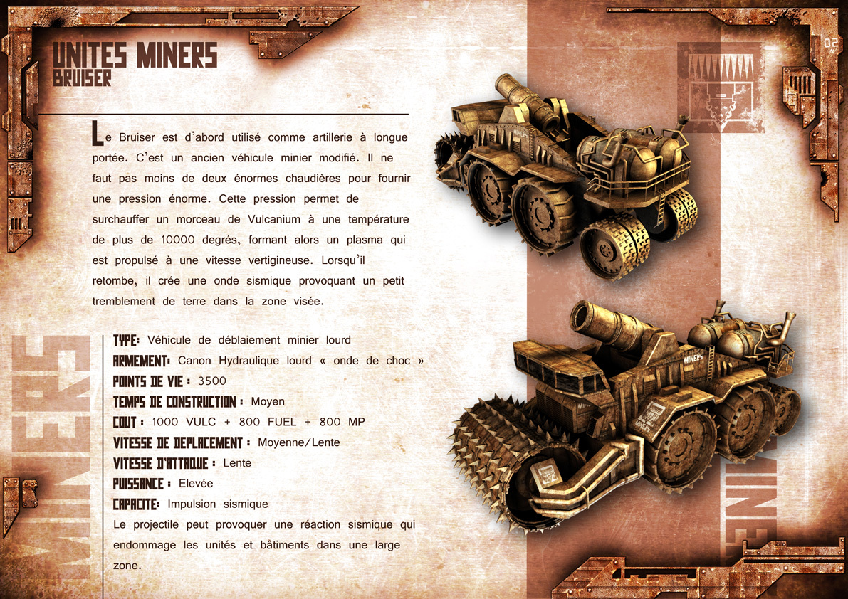 Broken Earth - Unités Miners 3