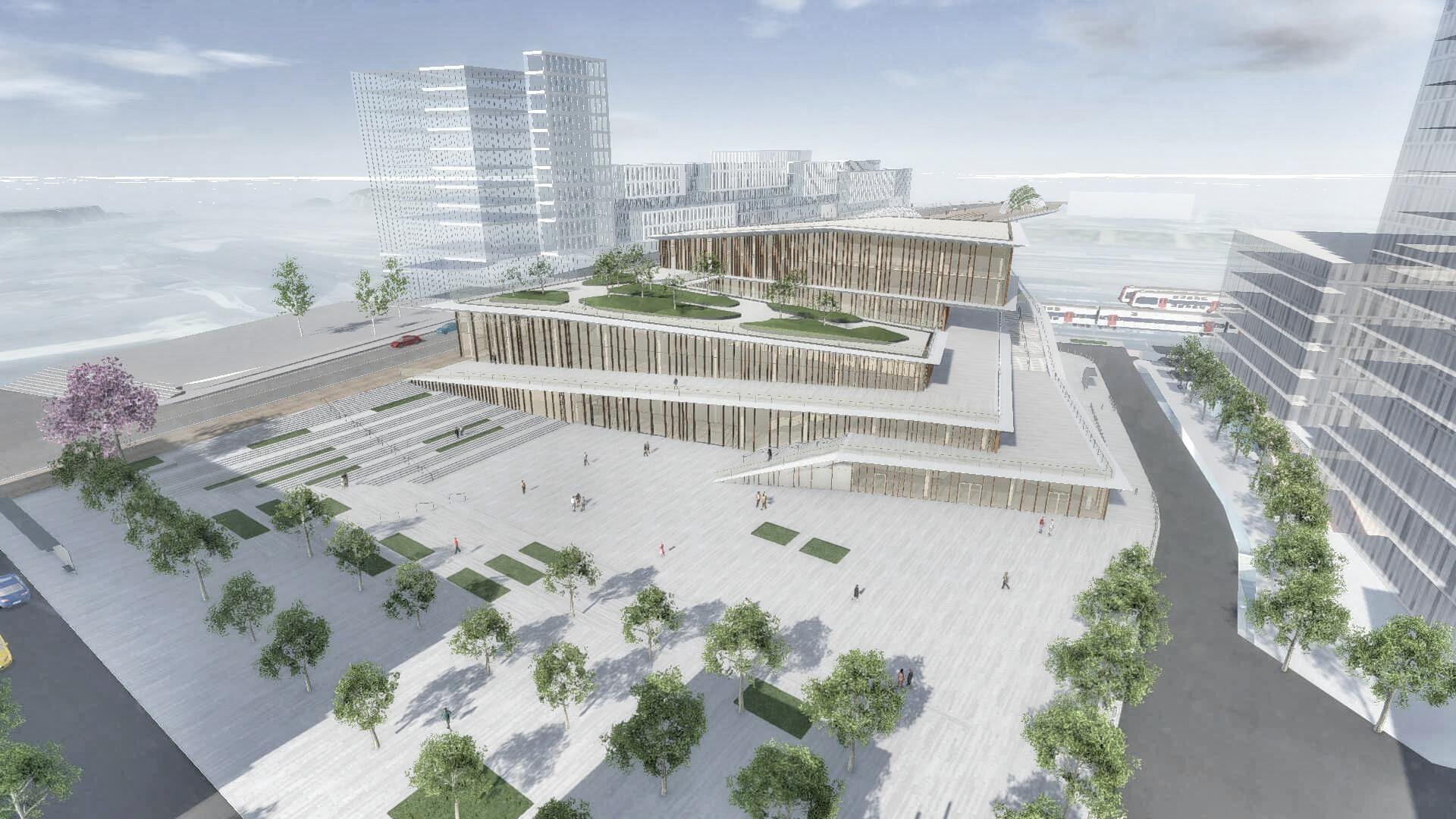 Gare Saint-Denis Pleyel
