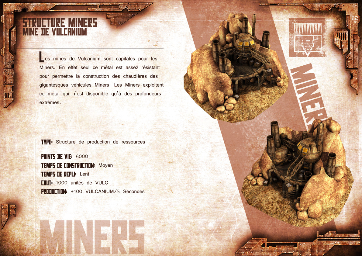 Broken Earth - Batiments Miners 3
