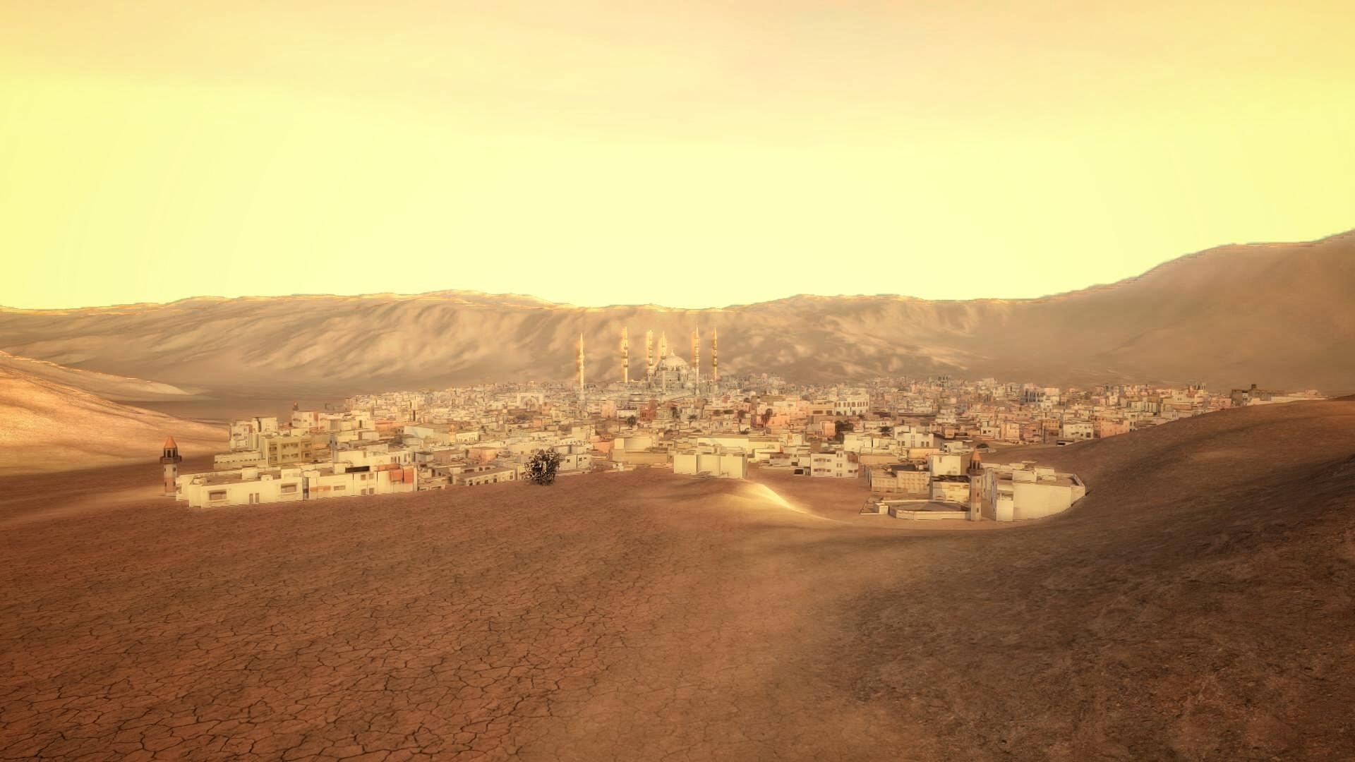 Grande mosquée Fujairah vue 1