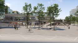 Gare Saint-Denis Pleyel vue 7