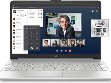 HP 15-dy1036nr 10th Gen Intel Core i5-1035G1, 15.6-Inch FHD Laptop