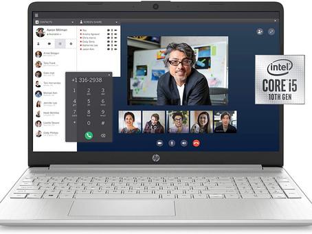 HP 15-dy1036nr 10th Gen Intel Core i5-1035G1, 15.6-Inch FHD Laptop