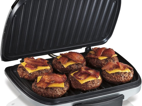 Hamilton Beach Electric Indoor Grill, 6-Serving
