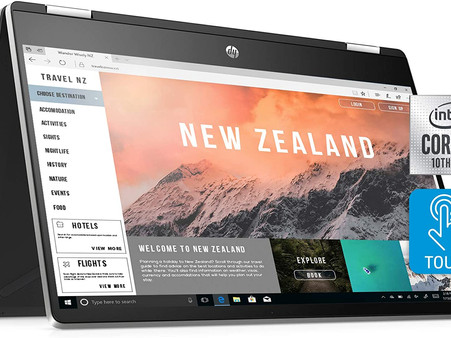 """HP Pavilion x360 14 Convertible 2-in-1 Laptop, 14"""" Full HD Touchscreen Display, Intel Core i5"""