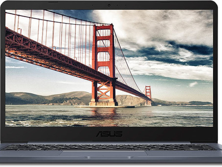 "ASUS Laptop L406 Thin and Light Laptop, 14"" HD Display, Intel Celeron N4000 Processor, 4GB RAM, 64GB"