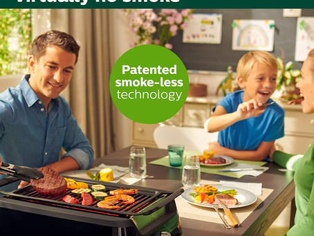 Philips Kitchen Appliances HD6371/94 Philips Smoke-less Indoor BBQ Grill