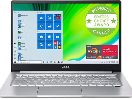 "Acer Swift 3 Thin & Light Laptop, 14"" Full HD IPS, AMD Ryzen 7 4700U Octa-Core with Radeon Graphics"