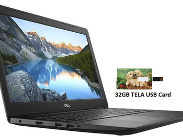 "2020 Newest Dell Inspiron 15.6"" HD Business Laptop Intel 4205U, 12GB RAM, 256GB PCIe SSD + 1TB HDD"