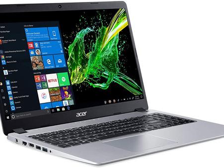 Acer Aspire 5 Slim Laptop, 15.6 inches Full HD IPS Display, AMD Ryzen 3 3200U, Vega 3 Graphics, 4GB