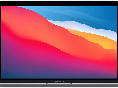 New Apple MacBook Air with Apple M1 Chip (13-inch, 8GB RAM, 256GB SSD Storage)
