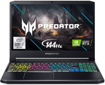 "Acer Predator Helios 300 Gaming Laptop, Intel i7-10750H, NVIDIA GeForce RTX 2060 6GB, 15.6"" Full HD"