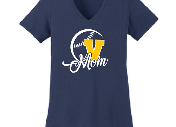 Victor BB Mom Fitted V Tee