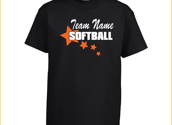 Softball Star Tee
