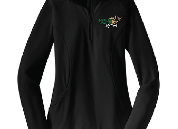 RH Lady Comets BB -Ladies 1/2 Zip Pullover