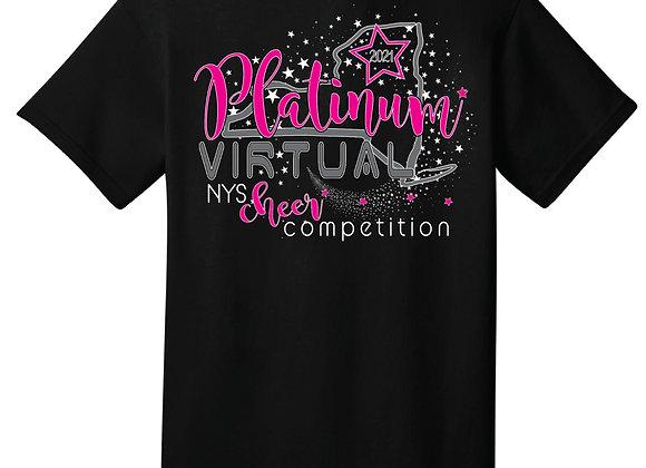 Platinum Virtual Cheer Tee