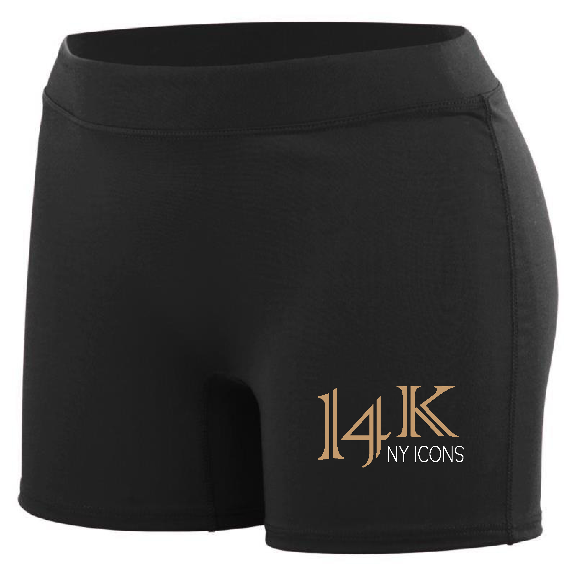 14K fitted shorts