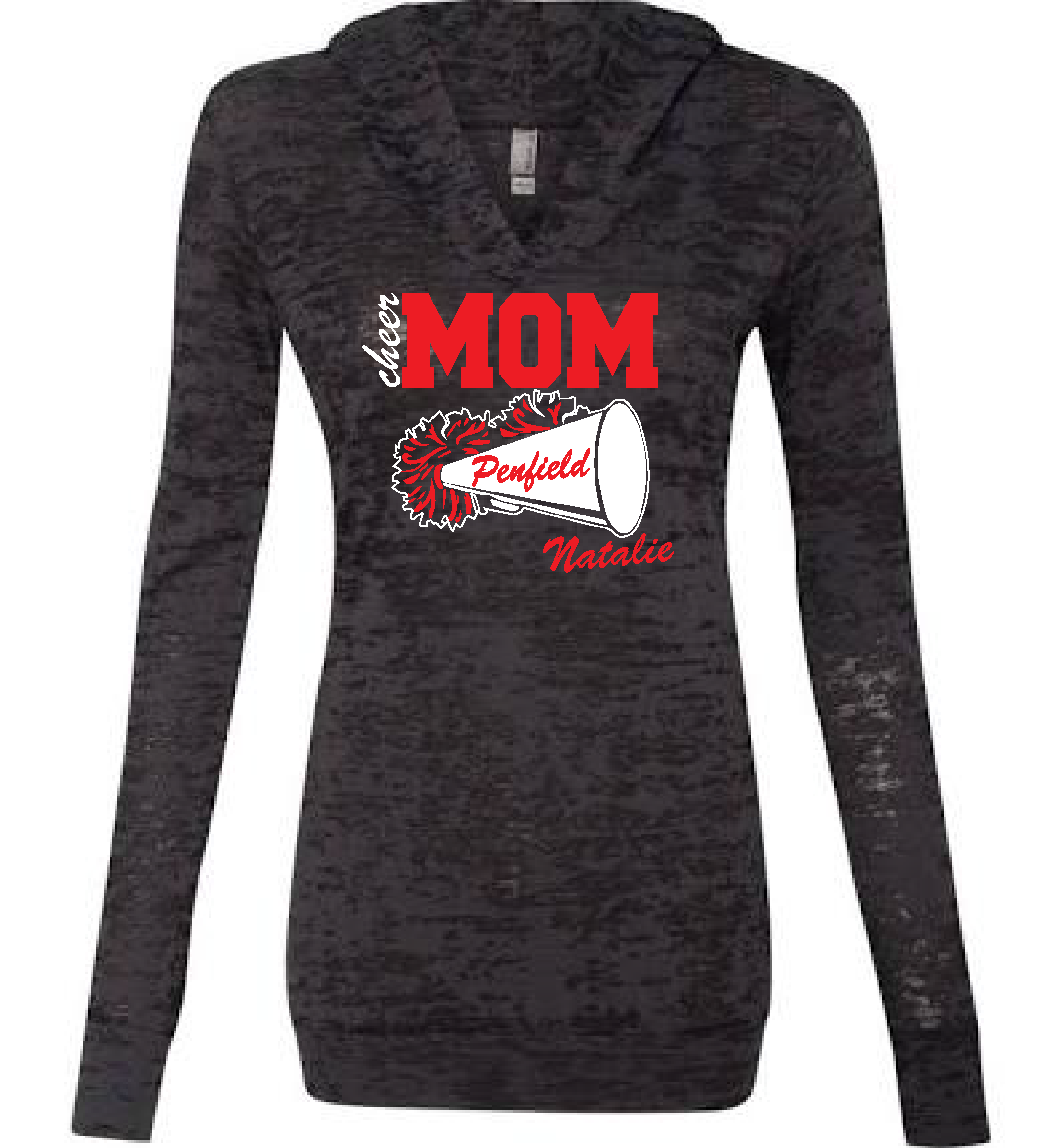 Penfield Cheer MOM Burnout hoodie