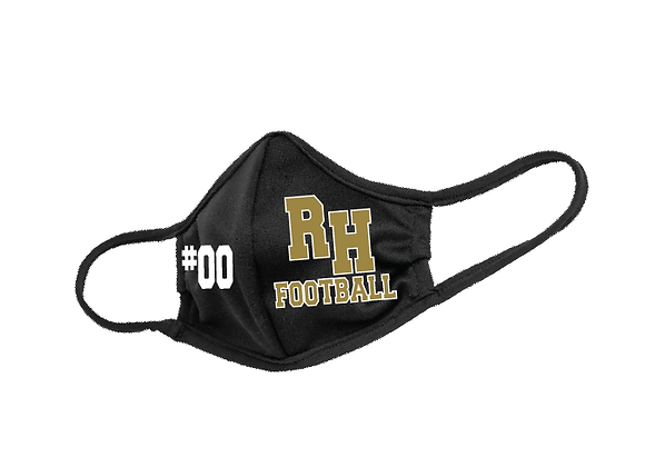 RH Football Personalized 3ply Mask
