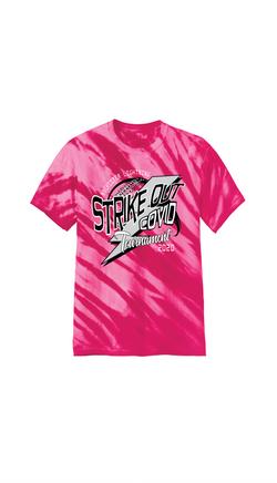 SOC tee Front pink td