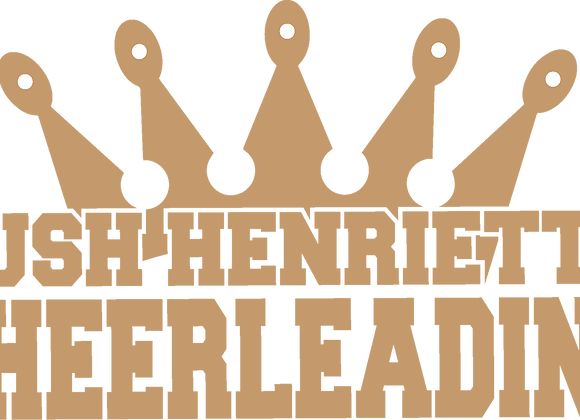 RH Cheerleading Decal