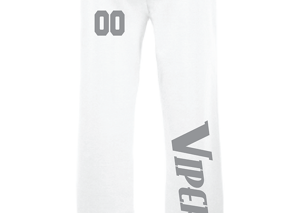 Vipers Sweatpants Open Bottom