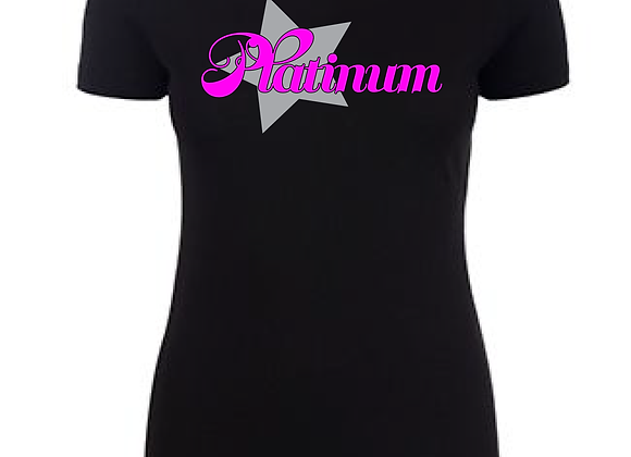 Platinum Star Fitted Tee